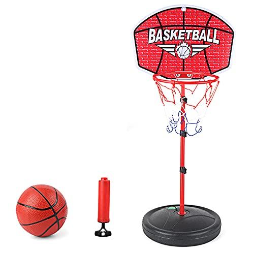TANTAO Kinder Basketballkorb, 150 cm Höhenverstellbar Basketball Ständer Kinder Spiel Trainingsgeräte...