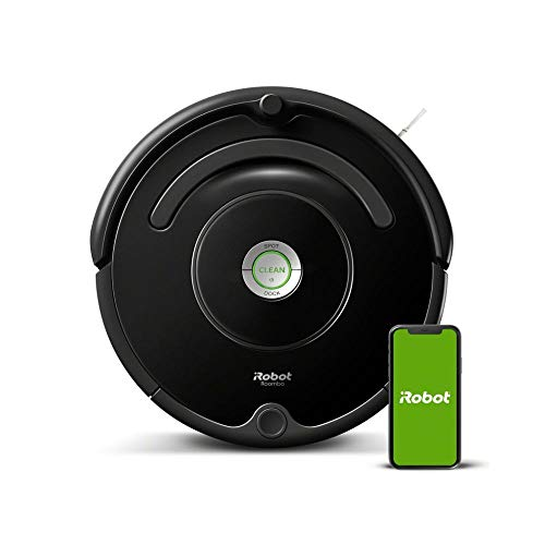 iRobot Roomba 671 WLAN Saugroboter, Dirt Detect Technologie, 3-stufiges Reinigungssystem,...