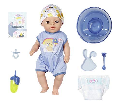 BABY born Soft Touch Little Boy 36cm Puppe - Leicht für Kleine Hände, Kreatives Spiel fördert Empathie...