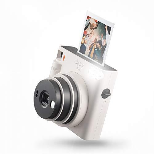 instax SQUARE SQ1 Sofortbildkamera, Chalk Weiß