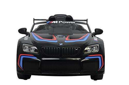 EIMALIGES Elektro KINDERAUTO BMW M6 GTR3 ORIGINAL BMW Lizenz Elektro Auto KINDERFAHRZEUG IN 2 Farben...
