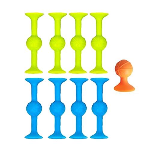Saugnapf-Spielzeug, Puzzle, klebrig, für den Außenbereich, Wettbewerbsspiele, sehr beliebt, mit...