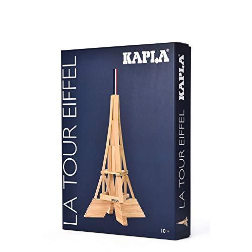 KAPLA 8029 Holzplättchen Eiffelturm Box 105-teilig