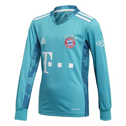 adidas Kinder 20/21 FC Bayern Goalkeeper Jersey Torwarttrikot, Labgrn, 152
