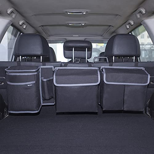 Vicera Kofferraum Organizer mit Klett – Kofferraumtasche fürs Auto mit teilbaren Modulen und...