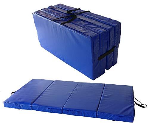 Universal Bodenmatte 4-teilig 200x100 Stärke 10 cm Weichbodenmatte klappbar