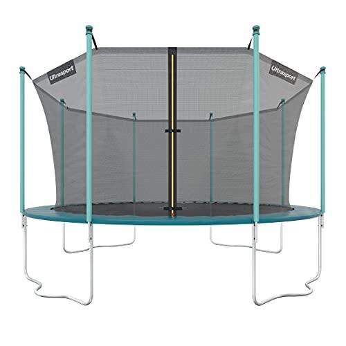 Ultrasport Gartentrampolin, Outdoor Trampolin, Kindertrampolin, 183-430cm, Sprungfedern oder innovatives...