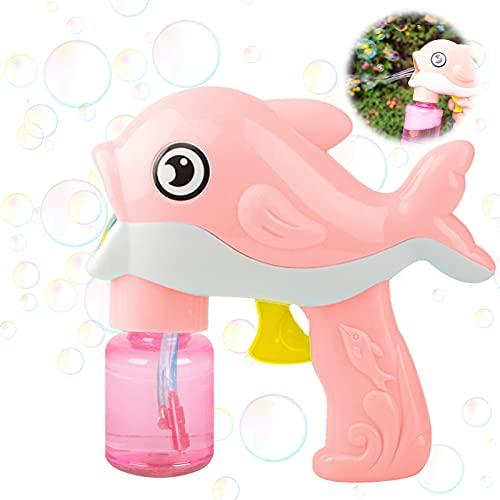 Seifenblasenpistole,Seifenblasenmaschine für Kinder,Seifenblasen Maschinen,Seifenblasenpistole mit 130ML...