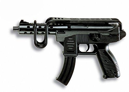 Edison Giocattoli Uzimatic: Spielzeugpistole für das Polizeikostüm, ideale Agenten-Ausrüstung, für...