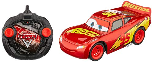Dickie Toys 203084010' Cars 3 RRC Turbo Racer Lightning McQueen RC Fahrzeug, ferngesteuertes Auto, 1:24,...