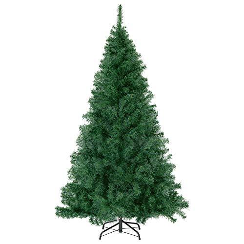 SALCAR Premium Weihnachtsbaum 270cm - Künstlicher Baum - Keine störenden Tannennadeln - Geruchslos -...
