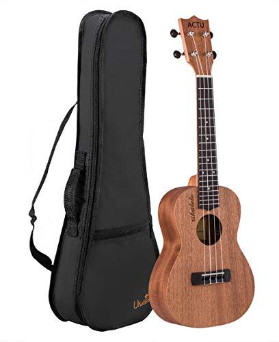 Professional Konzert Ukulele 23 Zoll Ukulelen Kinder Gitarre Aquila Saiten mit Anfänger Starter Pack