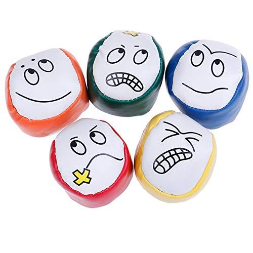 sus 5 Stück Jonglierbälle, Jonglierbälle für Anfänger Kinder, langlebiges Jonglierball-Kit, zum...