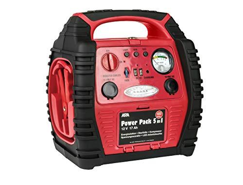APA 16547NV Power Pack 5in1 mobile Starthilfe, Spannungswandler, Kompressor