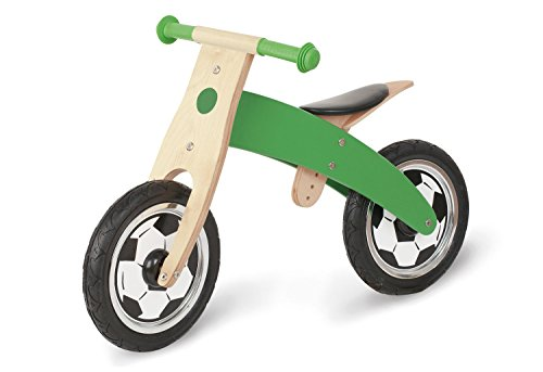 Pinolino Laufrad Jogi, mit Fussballsiebdruck, unplattbare Bereifung, umbaubar vom Chopper zum Laufrad,...