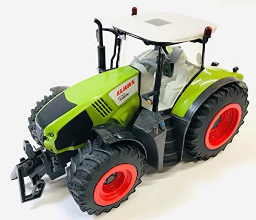 BUSDUGA RC Ferngesteuerter Traktor CLAAS 870 Axion 1:16 - passend zu den Bruder Anhänger, inkl....