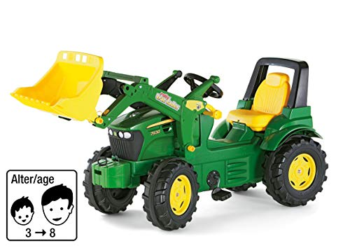 Rolly Toys 710027 - rollyFarmtrac John Deere 7930 Tretfahrzeug (für Kinder ab drei Jahre,...