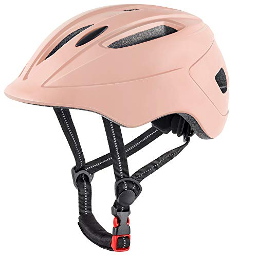 DesignSter Fahrradhelm für Kinder Verstellbar Robuster Jugend Fahrradhelm Skateboard Helm BMX...