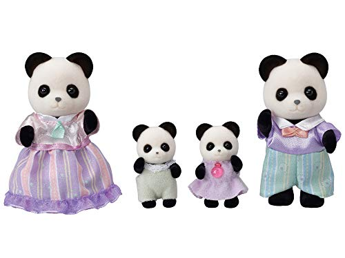 Sylvanian Families 5529 Panda Familie - Figuren für Puppenhaus
