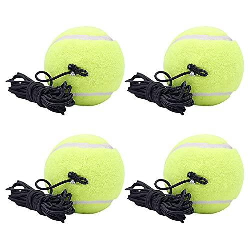 Nyphgo Tennisball mit Schnur Tennis Trainer Twistball Ersatzball Ideal für Indoor und Outdoor...