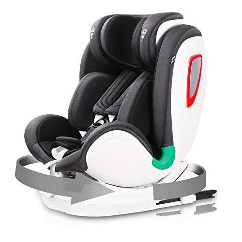 Miophy i-Size Kindersitz Autositz, Baby Autositz 360° drehbar mit ISOFIX und Top Tether (40-135cm), Ab...