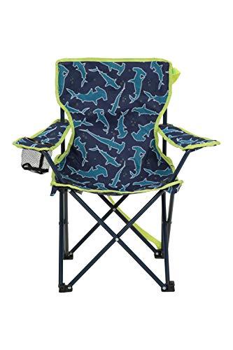 Mountain Warehouse Gemusterter Mini-Klappstuhl für Kinder - Campingstühle für Kinder, Leichter...