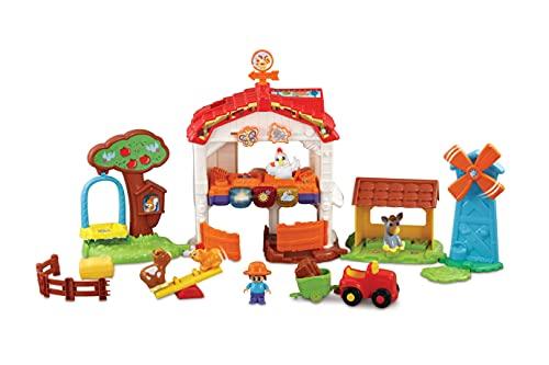 Vtech 80-540604 Tip Tap Baby Tiere - Lustiger Bauernhof Spielfahrzeug, Mehrfarbig
