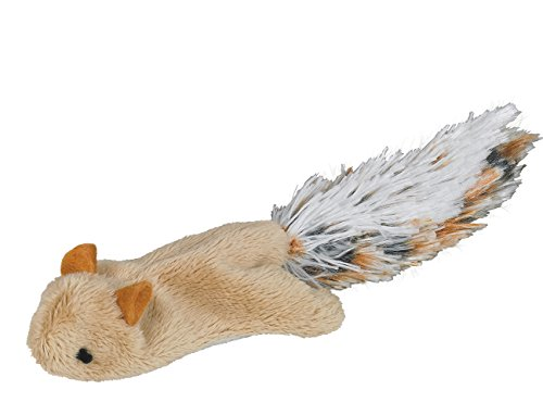 Nobby Plüsch Eichhörnchen mit Catnip 18 cm