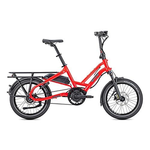 Tern Unisex Fahrrad HSD S8i E-Bike Lastenrad, 20', Rot, 021222