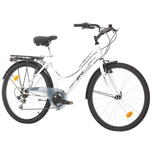 Multibrand Distribution Probike 26 City Zoll Fahrrad 6-Gang Urbane Cityräder for Heren, Damen, Unisex...