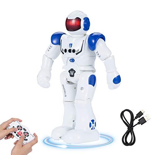SUNNOW Intelligente Roboter - Ferngesteuerter Roboter Spielzeug für Kinder RC Control Geste Steuerung...