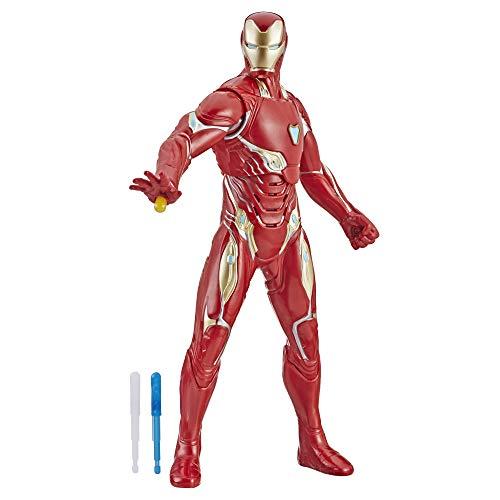 Hasbro Marvel E4929EW0 Marvel Avengers: Endgame Elektronischer Iron Man 33 cm große Action-Figur mit 20+...