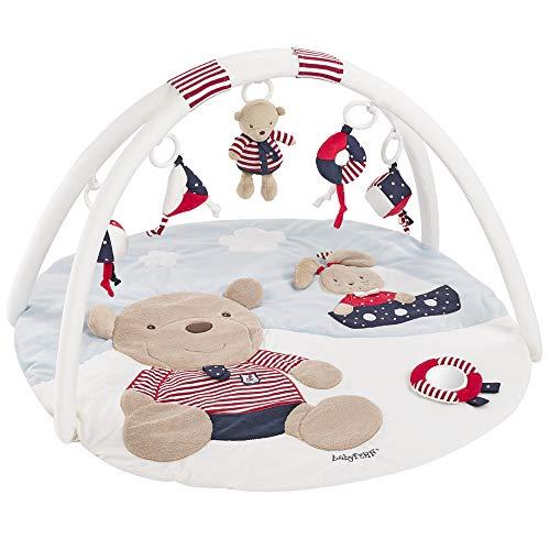 Fehn 078220 3-D-Activity-Decke Teddy / Spielbogen mit 5 abnehmbaren Spielzeugen für Babys Spiel & Spaß...