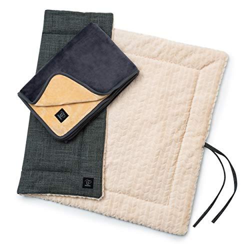 Pawz&Pawz Hundedecken 2 Stück | Sehr weiche & kuschelige Decken | 100x70cm/110x80cm | Stylisch robuste &...