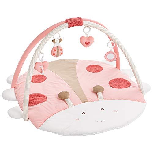 Fehn 068399 3-D-Activity-Decke Käfer / Spielbogen mit 4 abnehmbaren Spielzeugen für Babys Spiel & Spaß...