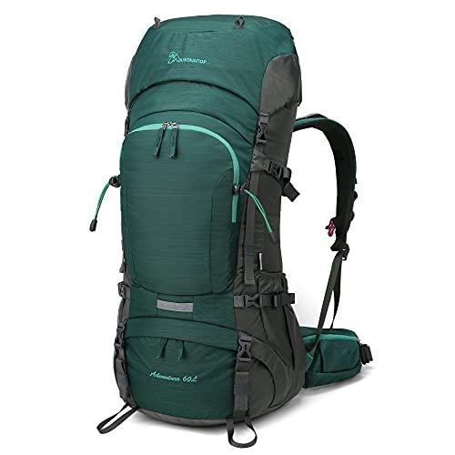 MOUNTAINTOP 60L Trekkingrucksäck Wanderrucksack Rucksack für Reisen Outdoor Klettern Camping mit...