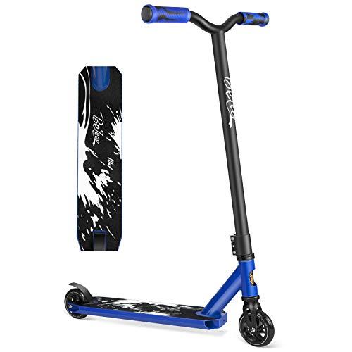 BELEEV Stunt Scooter Kinder, Freestyle Pro Trick Roller für Erwachsene, Kick Scooter mit Fixed Bar,...