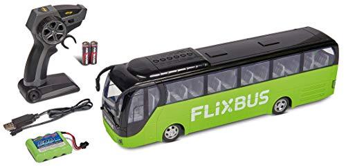 Carson 500907342 FlixBus 2.4GHz 100% fahrfertig, Spielzeugbus, Spielzeugauto, ferngesteuertes Auto, für...