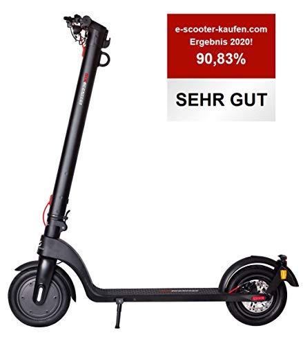 Scoot One E-Scooter E7 - mit Straßenzulassung/ABE, Herausnehmbarer Lithium-Ionen-Akku, 20 km/h, 8,5 Zoll...