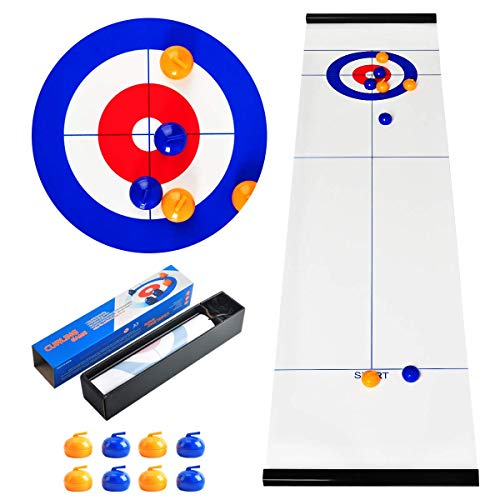 CS COSDDI Tabletop-Spiele, Curling-Spiel, tragbare Team-Brettspiele, Tabletop-Training...