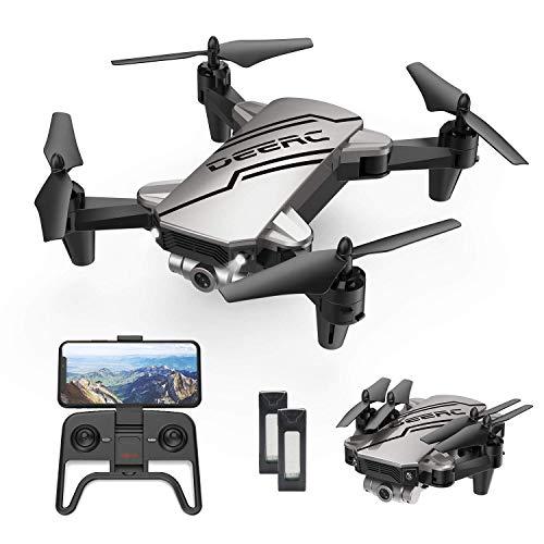 DEERC D20 Drohne mit Kamera HD 720P für Kinder,Faltbar RC Mini Quadcopter mit FPV WiFi Live...