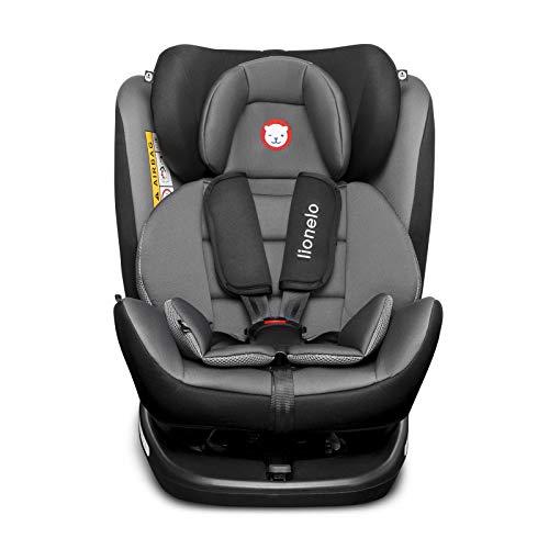 Lionelo Bastiaan Kindersitz, Autokindersitz ab Geburt, Gruppe 0+ 1 2 3 (0-36 kg), ISOFIX 360°, TÜV...