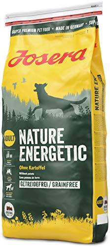 Josera Nature Energetic (1 x 15 kg) | getreidefreies Hundefutter ohne Kartoffeln | Super Premium...
