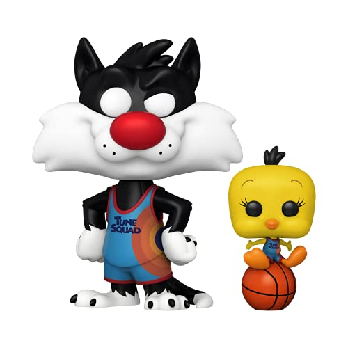 Funko 56228 POP and Buddy: Space Jam 2- Sylvester and Tweety