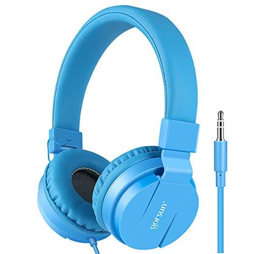 Gorsun® Premium Kinderkopfhörer, Faltbare Kopfhörer für Kinder, verstellbare Leicht-Kopfhörer für...