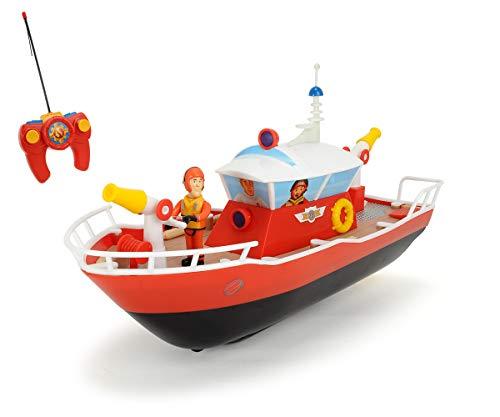 Dickie Toys RC Feuerwehrmann Sam Titan, funkferngesteuertes Boot mit verschiedenen Funktionen,...