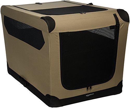 AmazonBasics - Hundekäfig, weich, faltbar, 91 cm