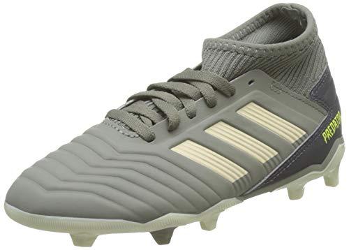 adidas Predator 19.3 FG J Fußballschuhe, Grün (Legacy Green/Sand/Solar Yellow Legacy Green/Sand/Solar...