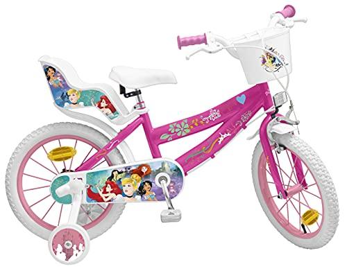 Pik&Roll Girls Princessin Kinderfahrrad 16', pink