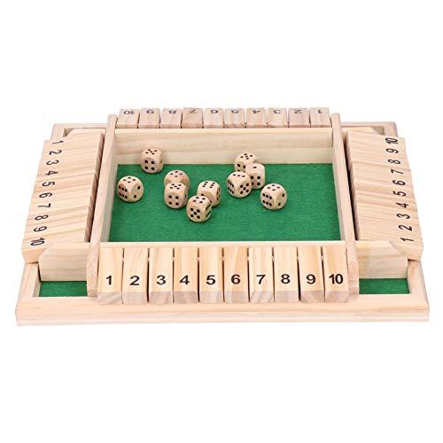 Game Disk Interessante Eltern-Kind-Brettspiel-Spaß Trinkrequisiten für 2 bis 4 Spieler für Menschen...